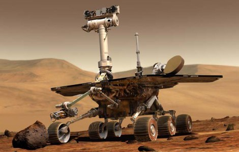 Mars rovers Spirit