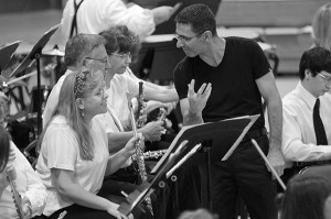 Richard Regan and the New York Wind Symphony